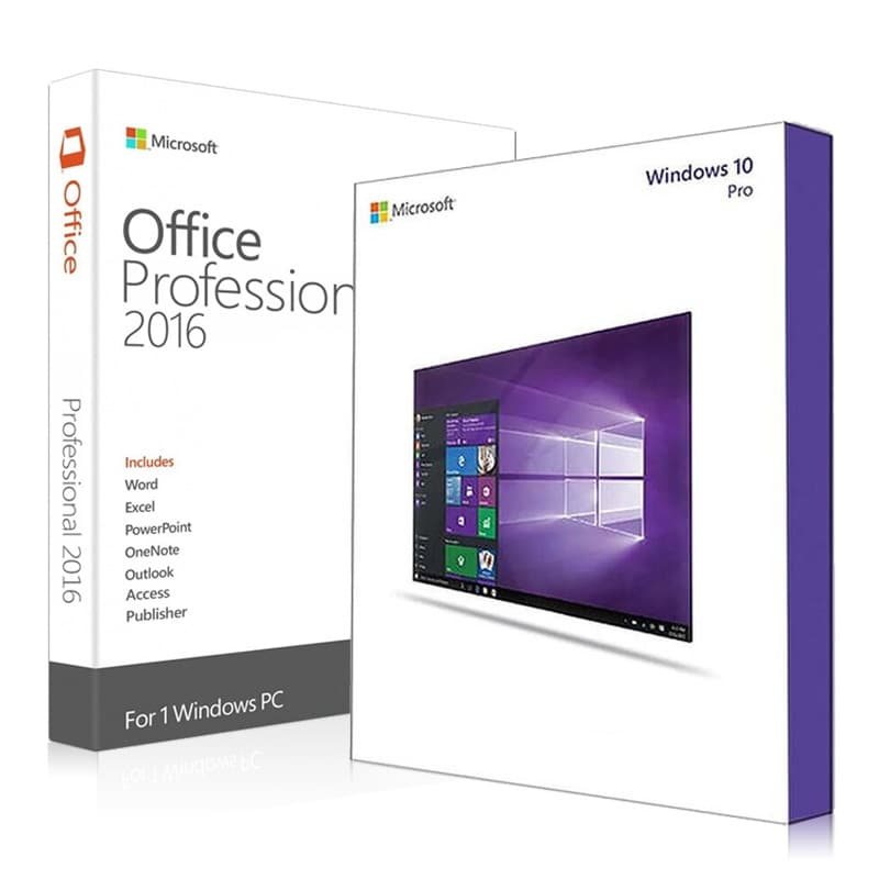 Combo Installer Windows 10 Pro + Office 2016 Pro Plus (Save 10%) - All Key For You
